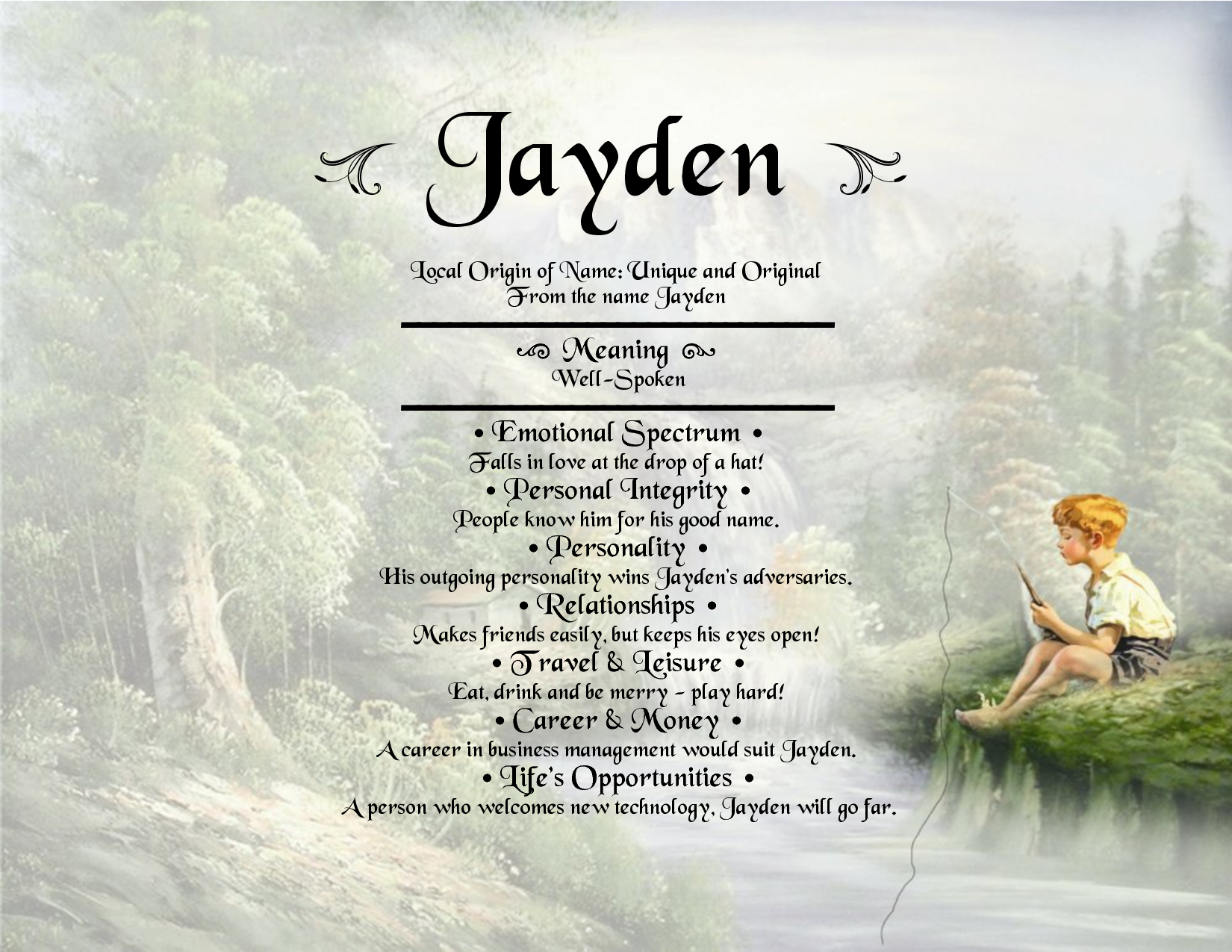 Jayden-name-meaning | For the love of grandbabies ... - photo#32