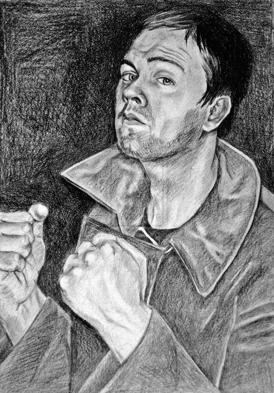 Tom Meighan Drawing by SydneysDoodles.deviantart.com on @deviantART
