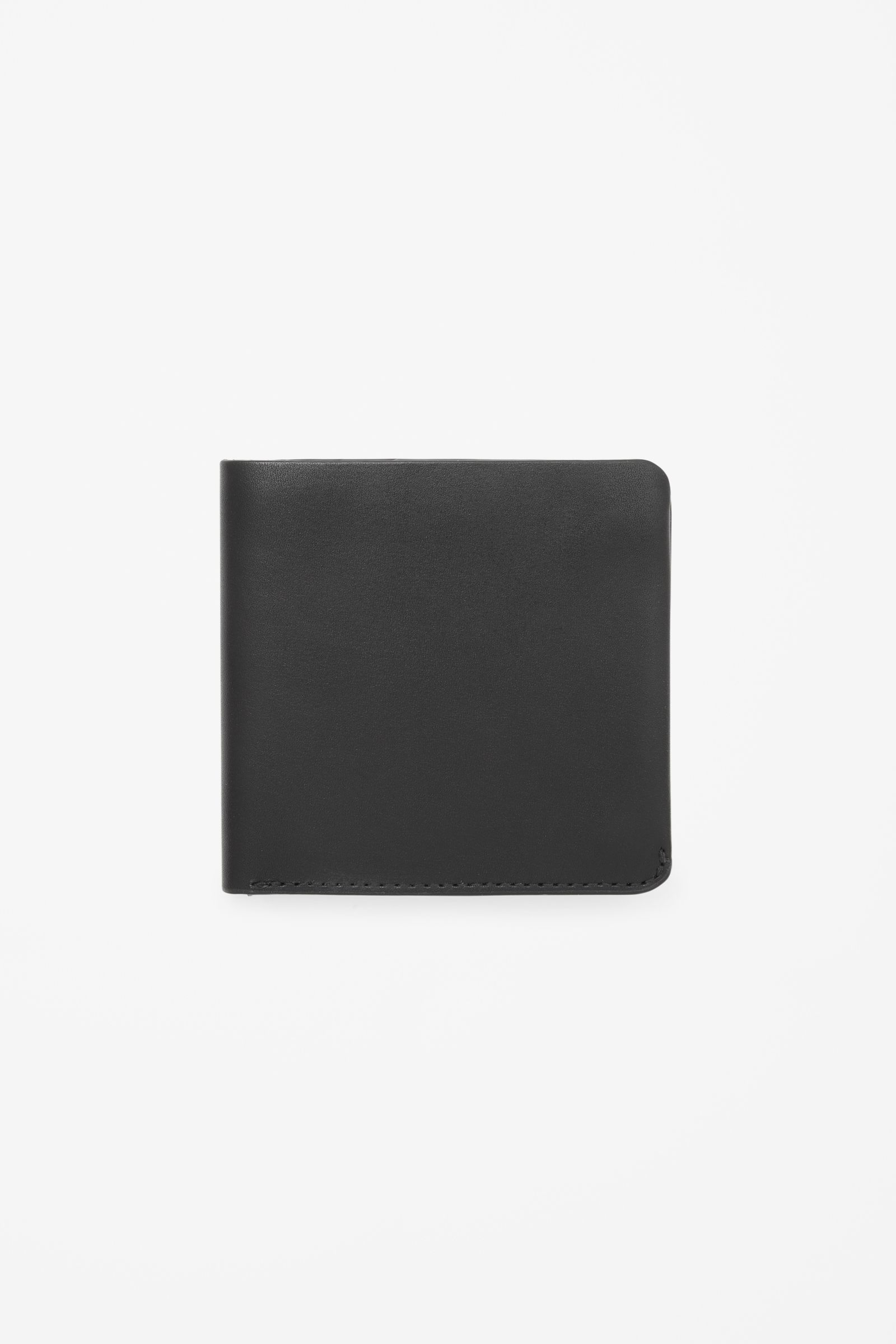 COS image 1 of Folded press button wallet in Black