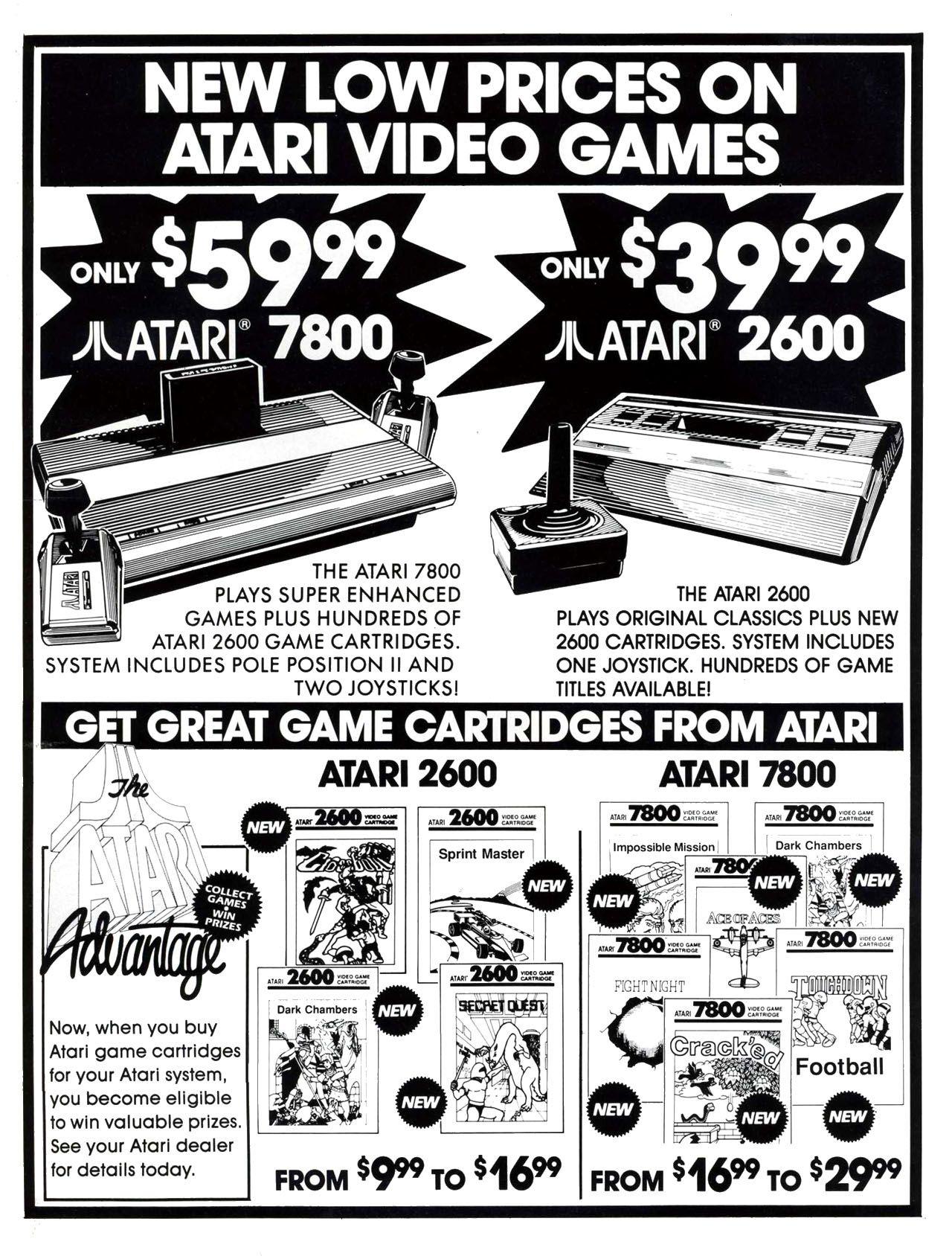 Atari Ad atari retroad retrogaming Atari video games