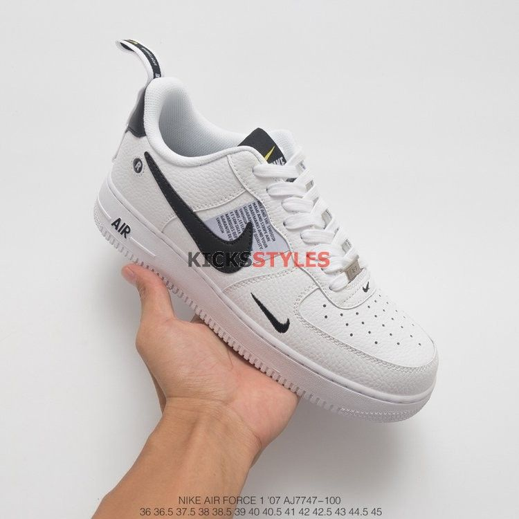 Nike Air Force 1 07 Lv8 Nba Pack White And Black 823511 10 TopDeals
