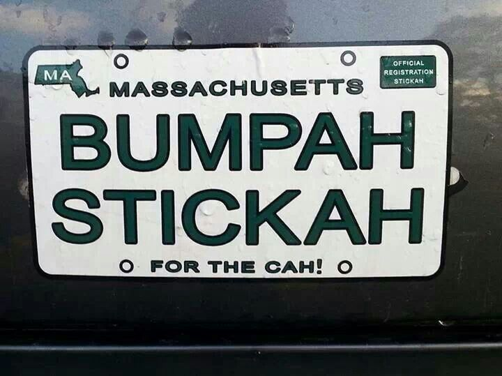 Funny Boston Bumper Stickers