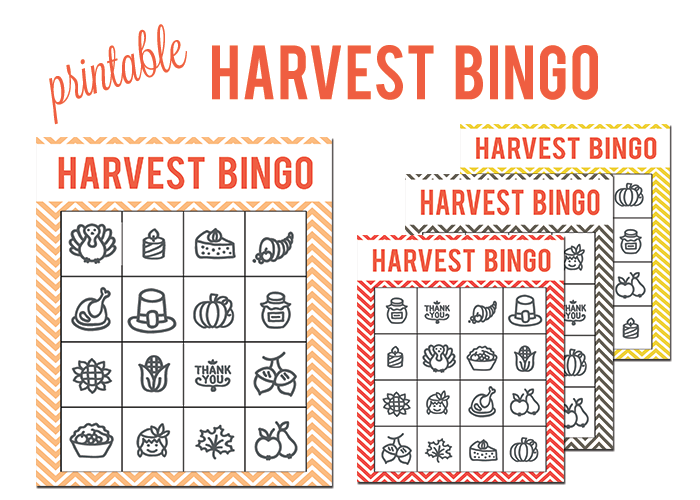 image about Fall Bingo Printable named Harvest Bingo Family members Video game - Free of charge Printable drop