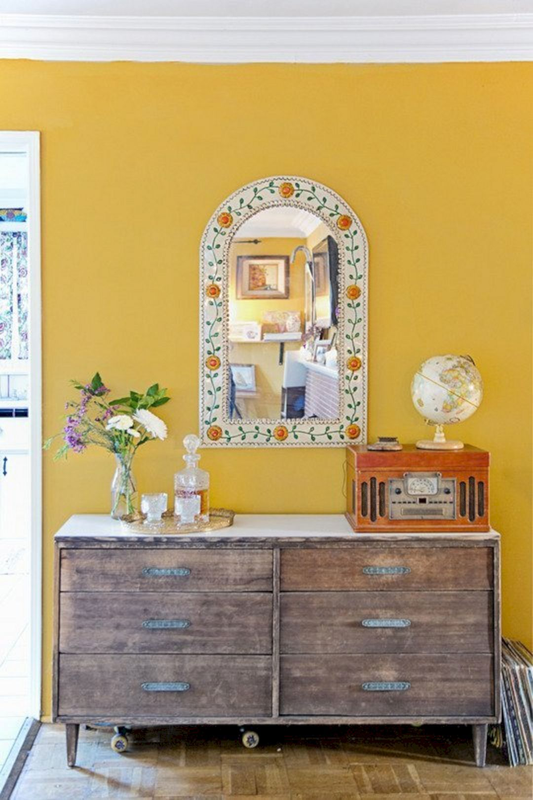 45+ Incredible Yellow Aesthetic Bedroom Decorating Ideas in 2018 ...