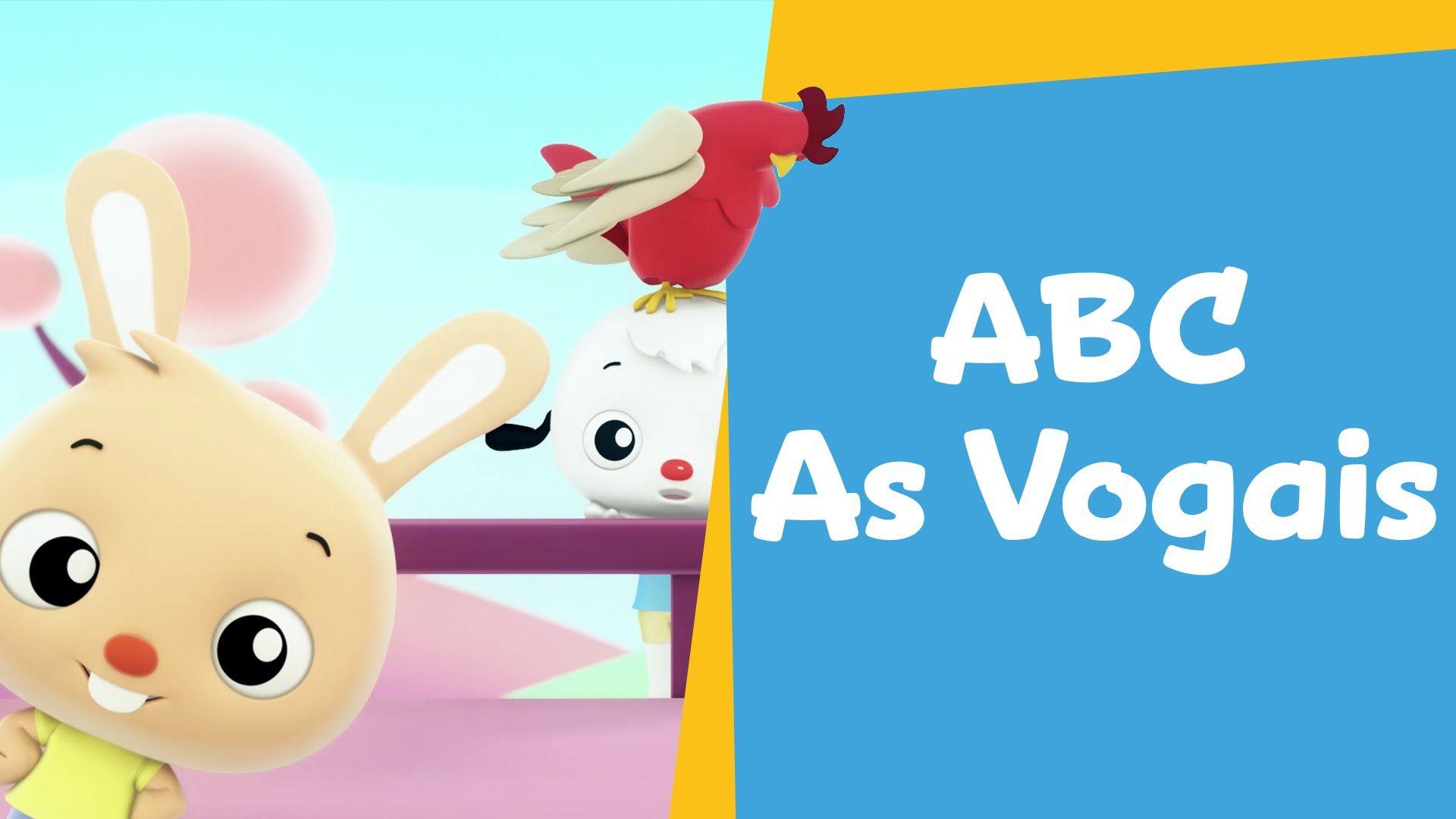 Vamos Cantar com as Vogais! | Desenho Infantil | ABC PlayKids: Ep 01