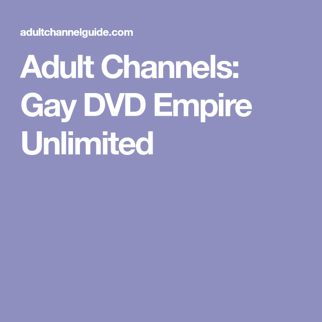 channels Gay adult