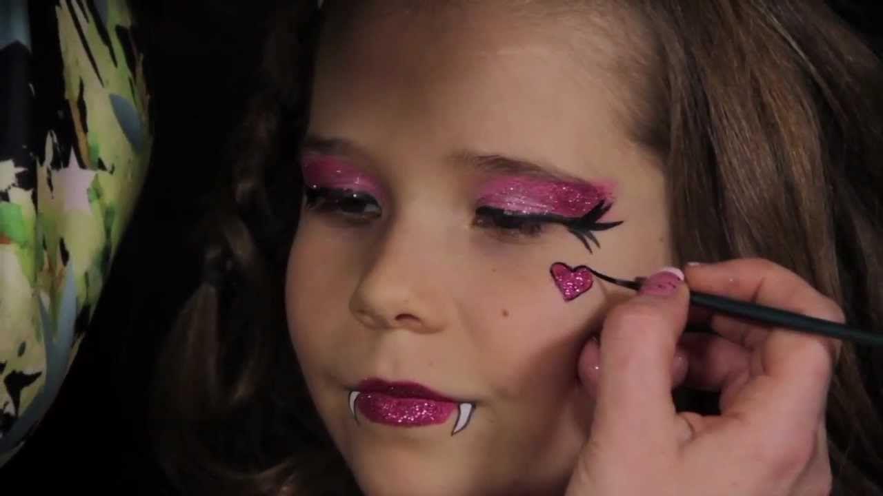 Monster high draculaura makeup tutorial avas party pinterest monster high draculaura makeup tutorial baditri Images
