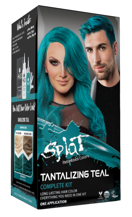 Vegan Cruelty Free Semi Permanent Hair Dye Kits Splat Hair Color In 2020 Splat Hair Dye Splat Hair Color Bold Hair Color