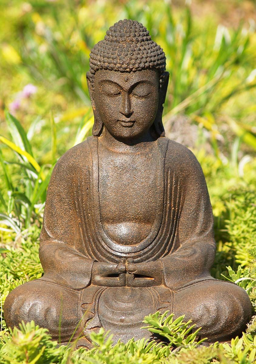 View The Preorder Meditating Garden Buddha Statue 12 At 400 x 300