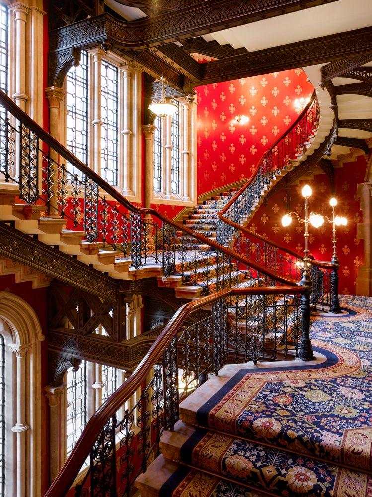 St Pancras Renaissance London Grand Stairway Renaissance