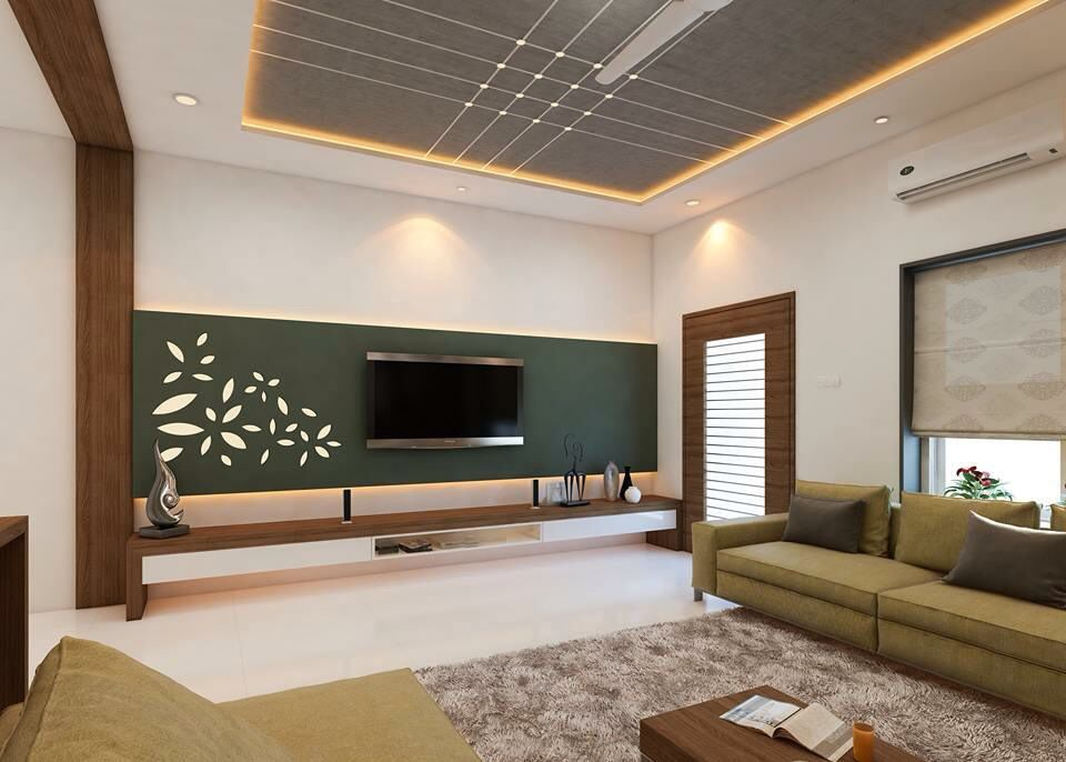 3d Tv Unit Design With Images Apartment Design Living Room Tv