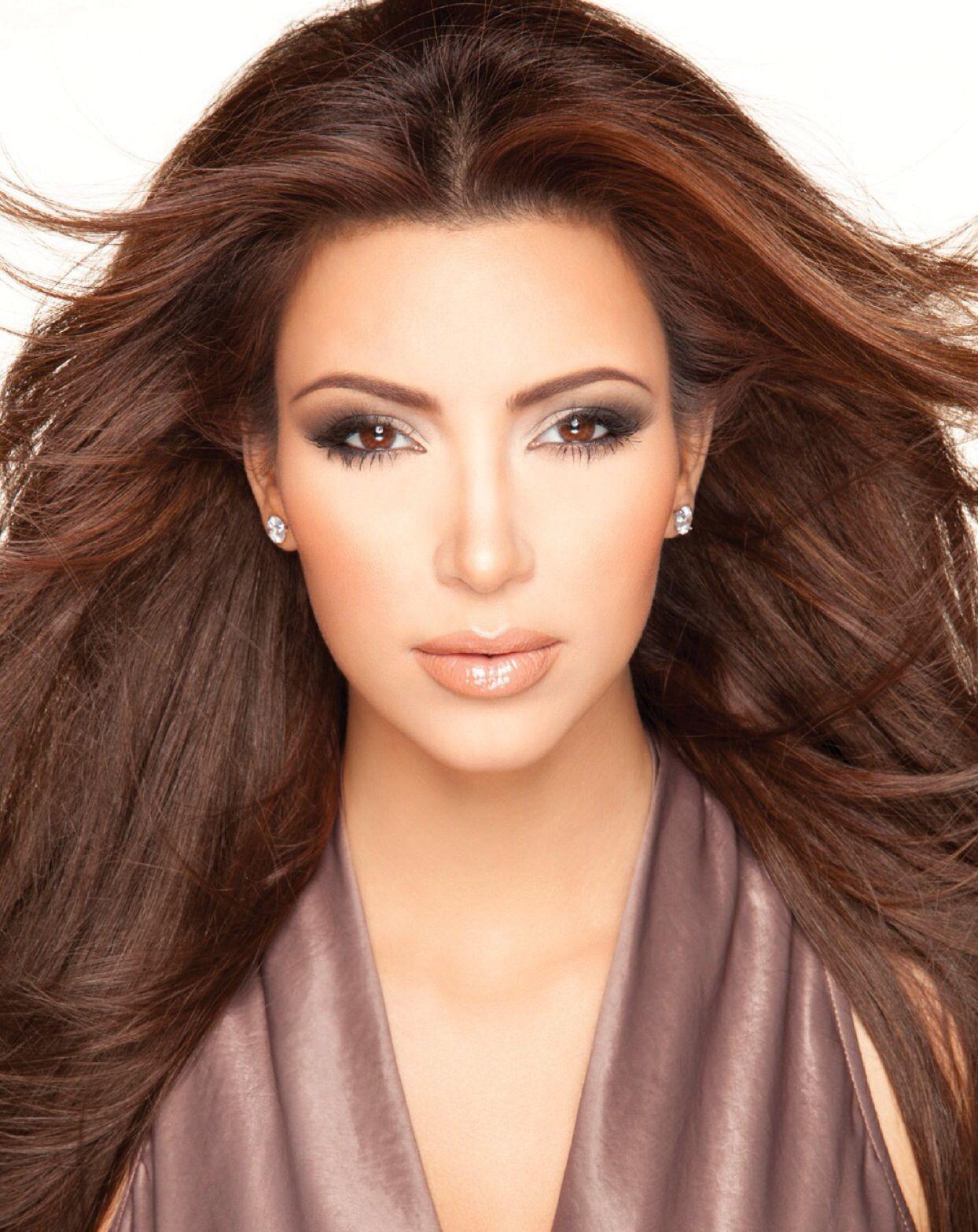 Pin by Itscarin on Makeup Kim kardashian makeup
