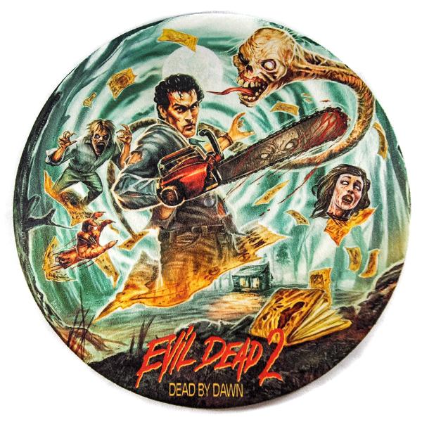 Evil Dead 2 Turntable Slipmat Horror Movie Art Evil Dead Movies Horror Posters