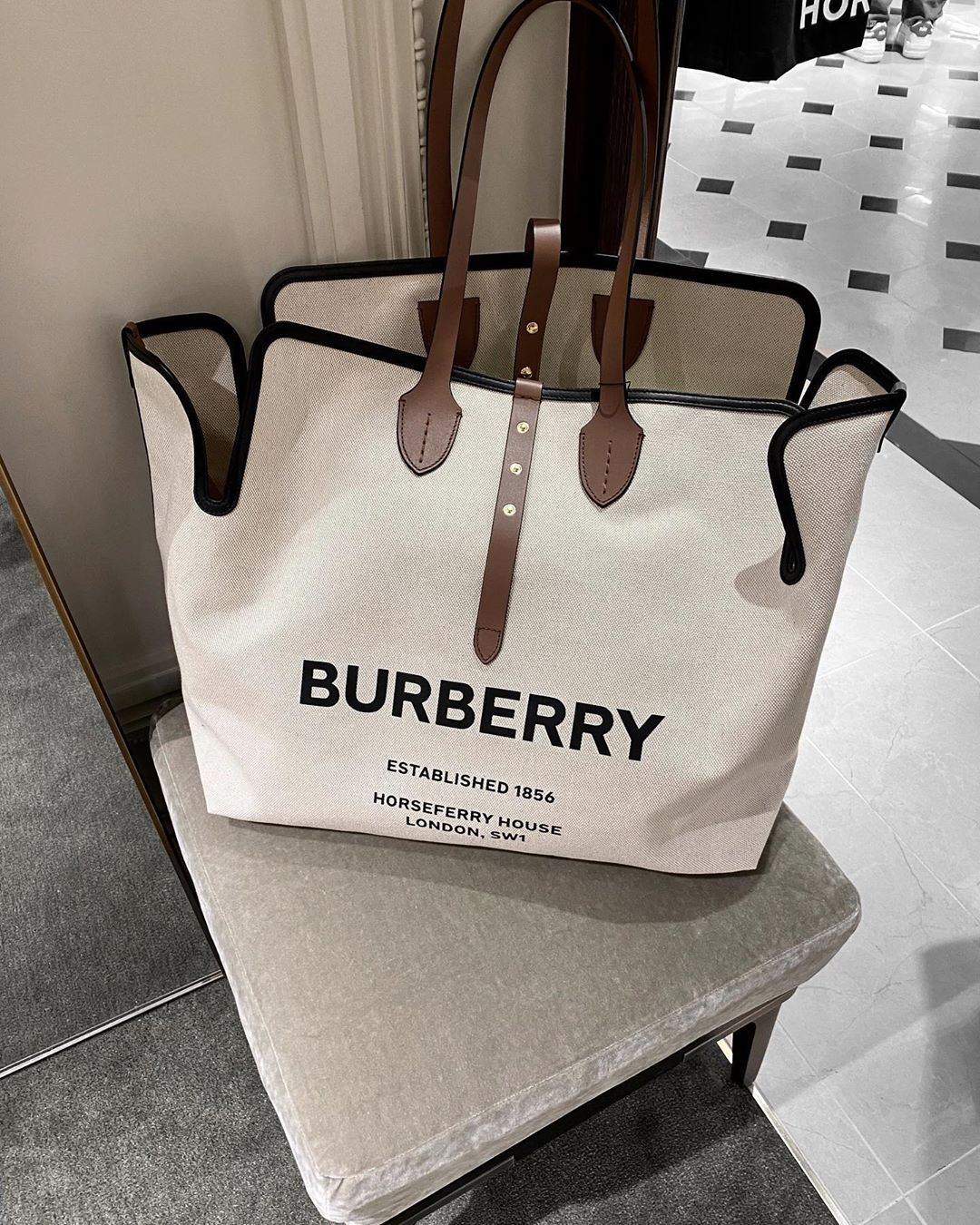 "Fashion | Beauty | Lifestyle on Instagram: ""Burberry basics ✔️"" 