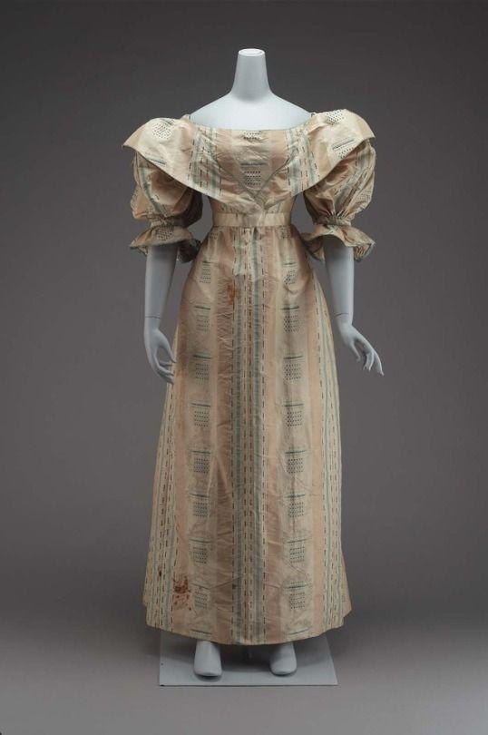Dress    c.1830; Altered c.1893    MFA