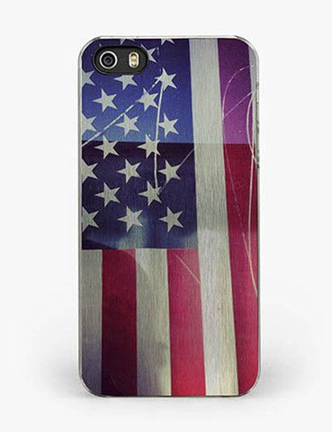 Usa Flag Reflection Iphone 5 5s Case Crafic Iphone Iphone 5 5s Cases