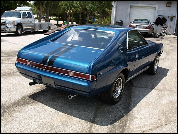 1969 AMC AMX Coupe 390 CI, 4-Speed husband had this car in