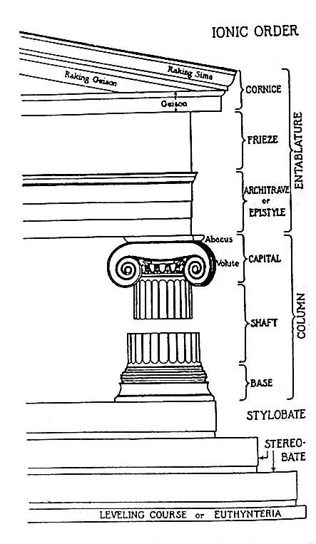 diagram    of a    greek       column     Google Search   Art Salon