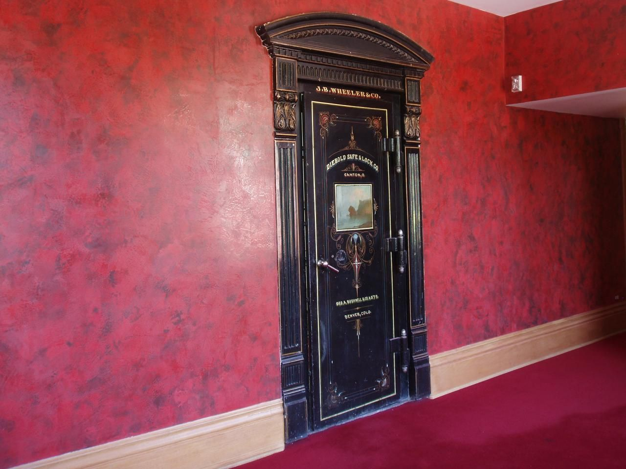 old vault door - Atmosphere Custom Painting - Faux FinisheS And Murals Love It