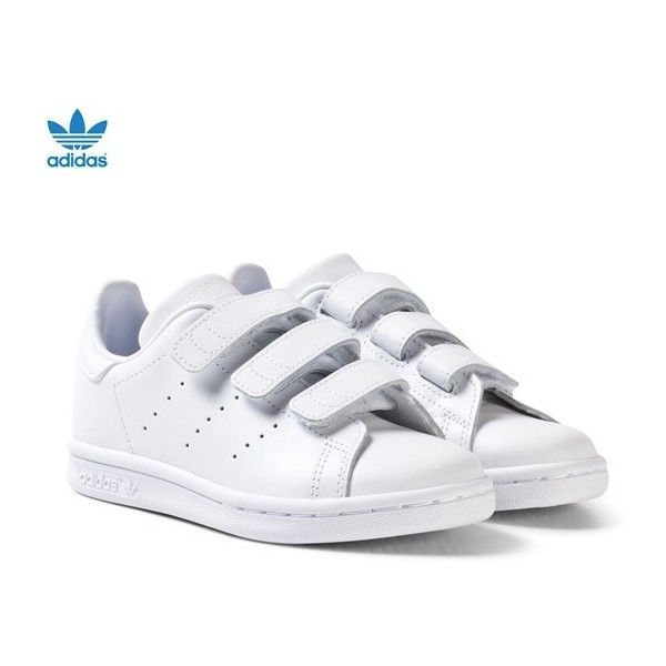 White leather shoes, Velcro shoes