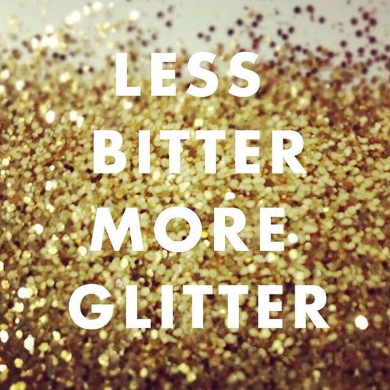 less bitter more glitter  jessparis paillette