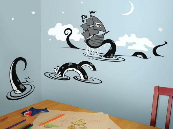 25 schicke Kinderzimmer Wandtattoo Ideen | Kinderzimmer