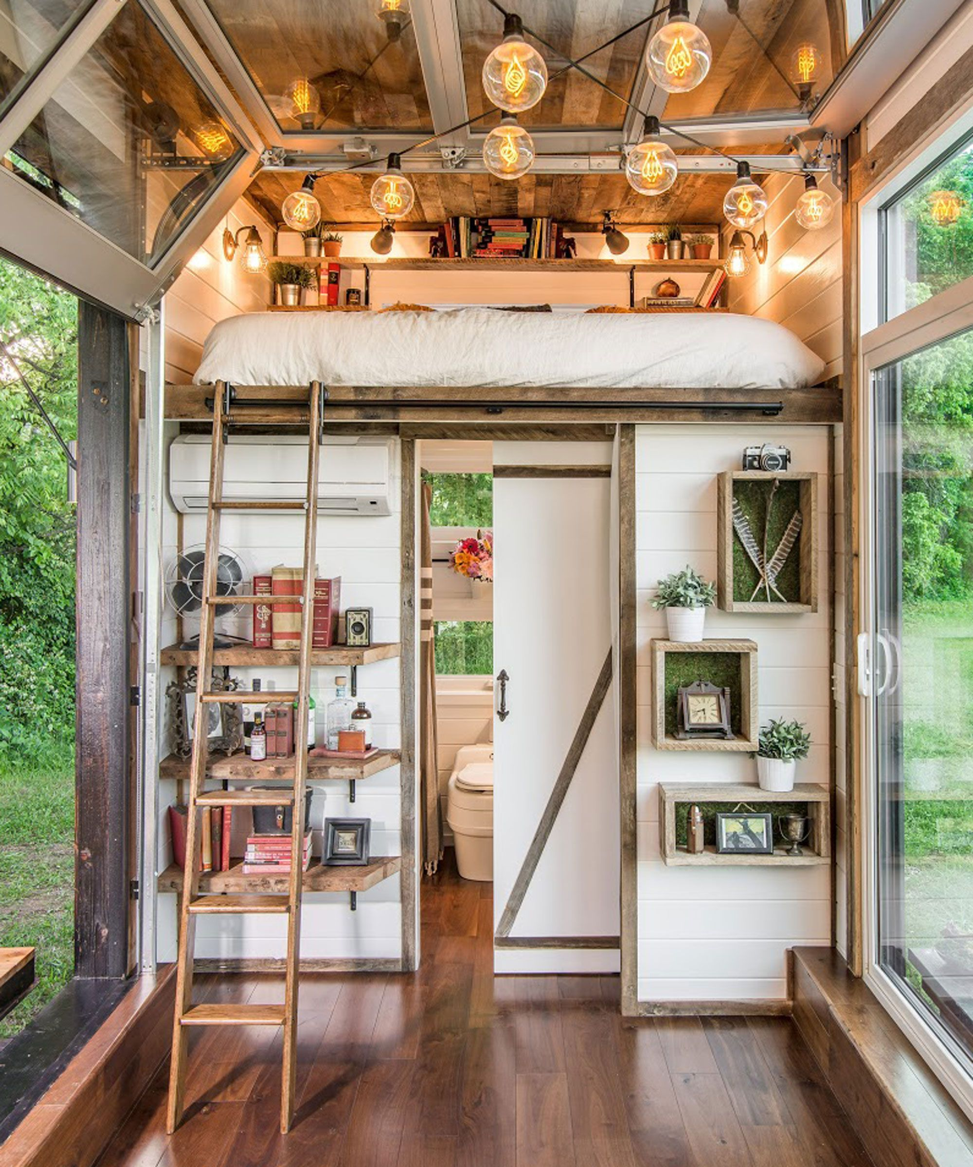 This Gorgeous Tiny House Is Proof That Size Doesnt Matter Tiny - New design inside house