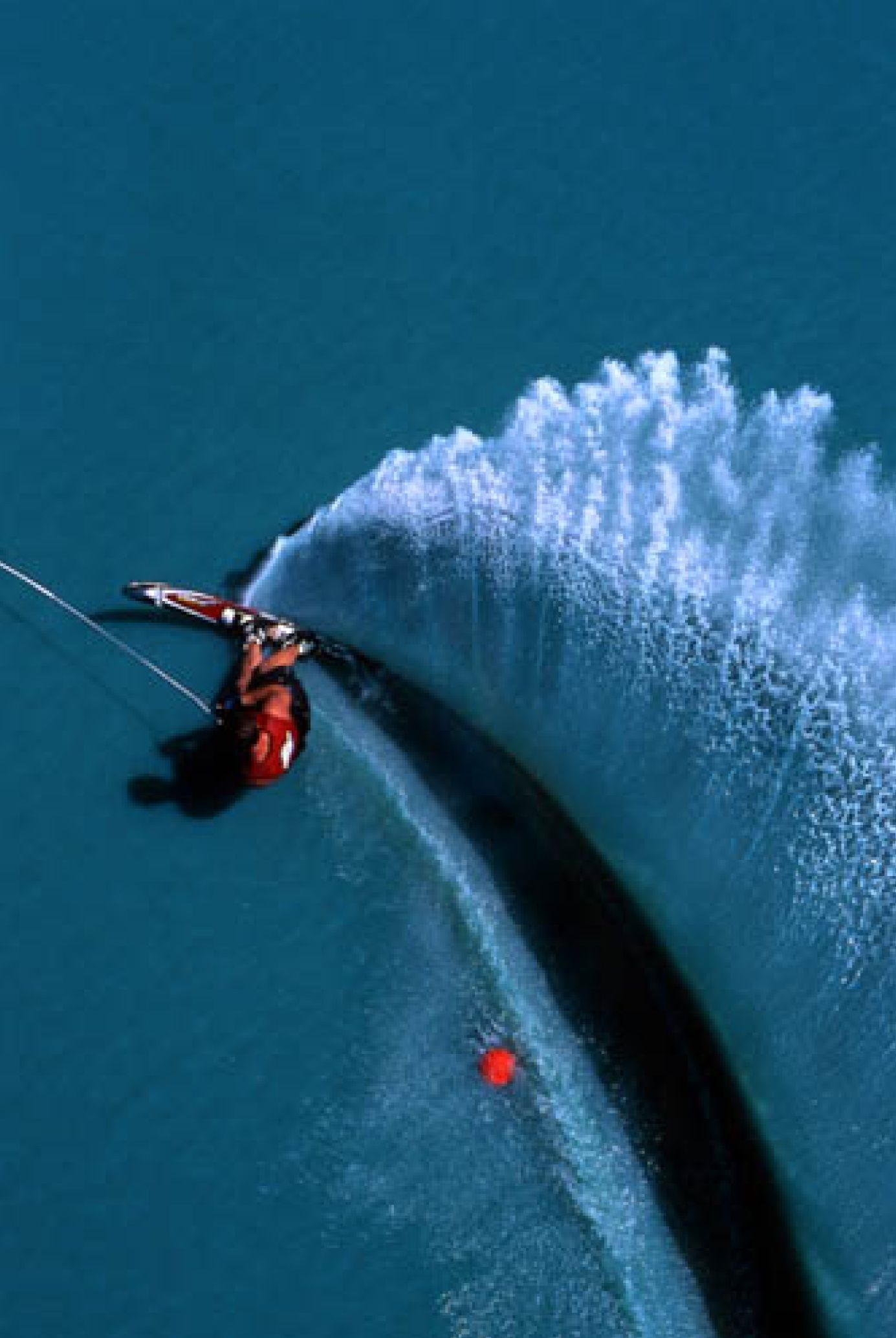 I Look From Above Tom King Water Skiing Slalom Skiing