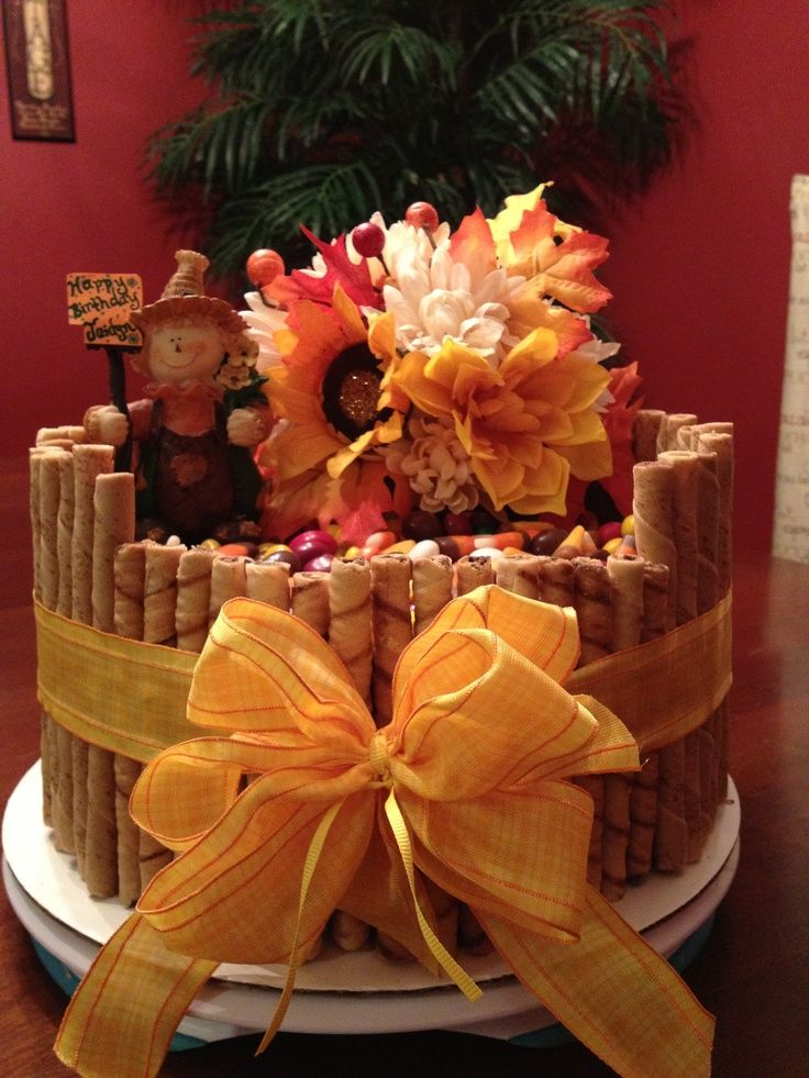 Fall Themed Birthday Cakes Fall Themed Birthday Cake Fun Cakes