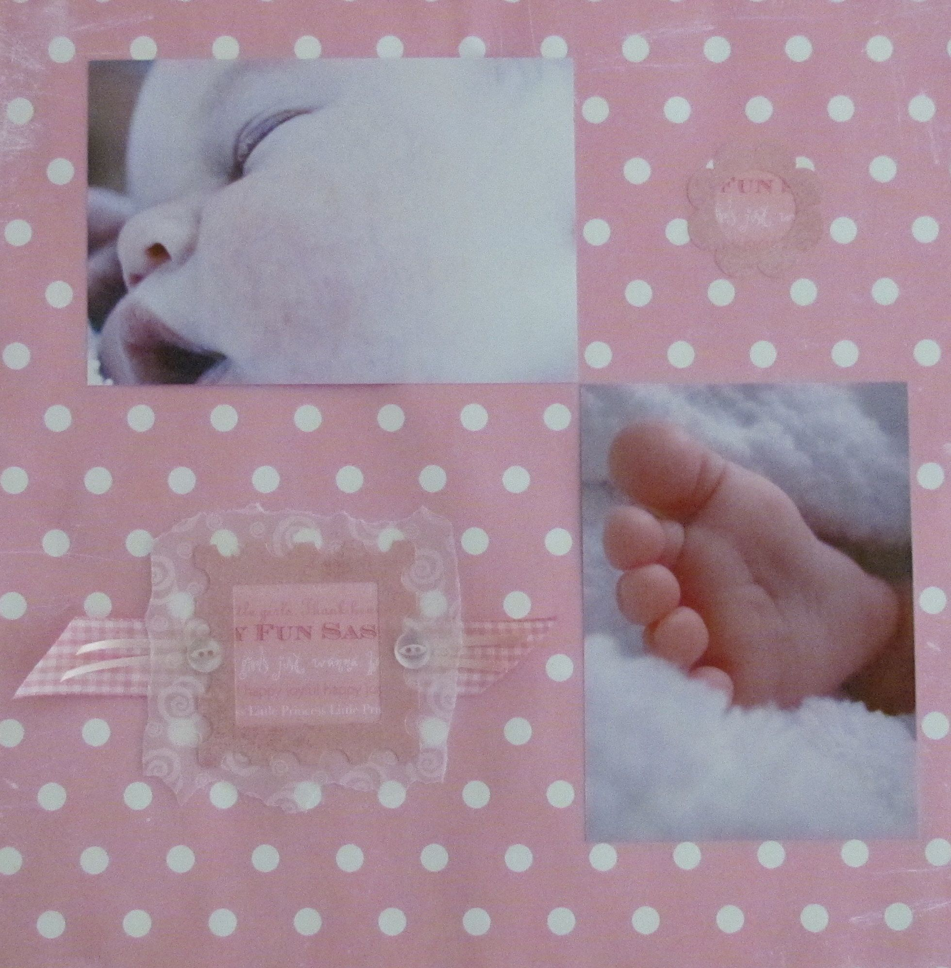 For new dads, what better way to start off a tradition than give a scrapbook page with photos of the new baby. We could make a new page each Fathers Day with an updated photo and help create a scrapbook album that would grow alongside the children. www.thememorycompany.co.uk for personalised scrapbooks