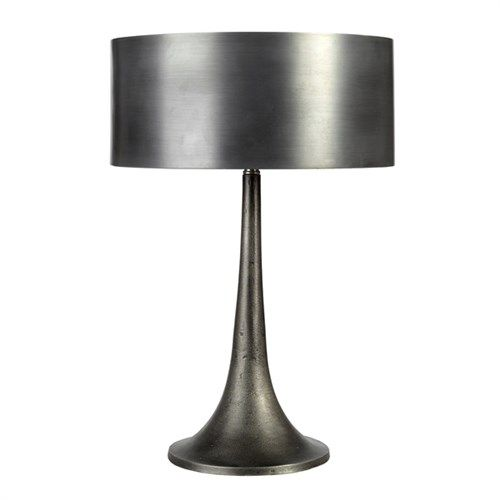 Lamp modern metal shade pols potten
