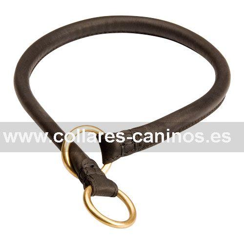 Tipos De Collares De Castigo Para Perros Collar Cuero Fino Redondo Estrangulamiento Brisa Collares De