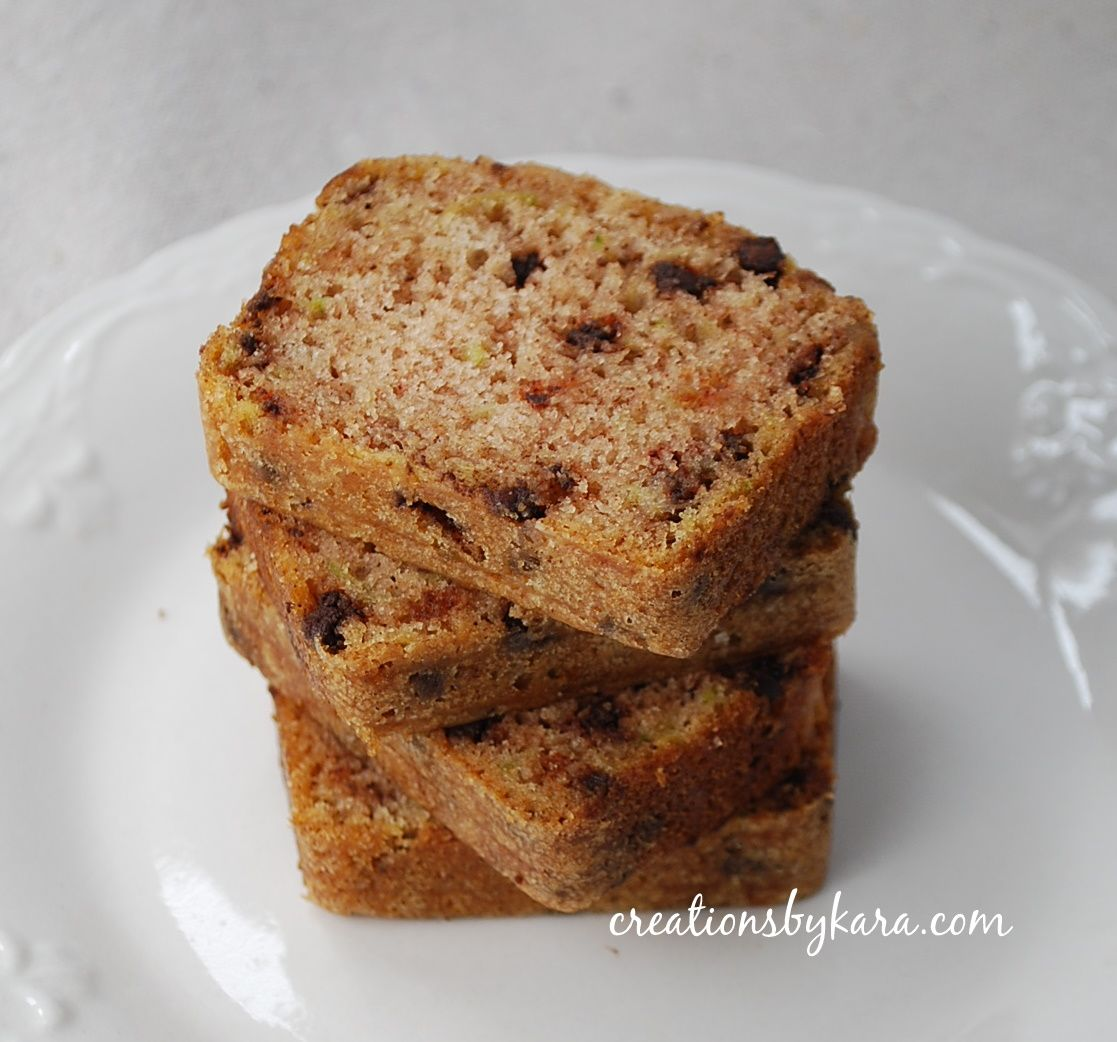 My Recipe Magic Chocolate Chip Zucchini Bread Chocolate Zucchini Bread Zucchini Bread Recipes