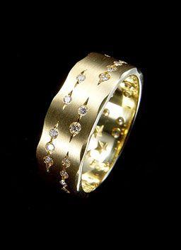a184f522078 HStern  Code Collection - Anel de ouro amarelo 18K com diamantes ...