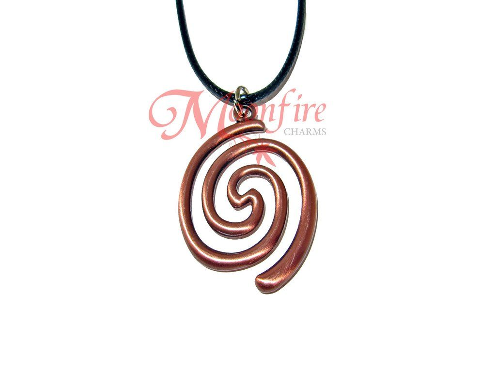 This necklace features the koru or spiral symbol seen on moanas this necklace features the koru or spiral symbol seen on moanas boat the koru biocorpaavc Choice Image