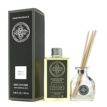 Reed Diffuser with Essential Oils - French Vanilla - 100ml-3.38oz