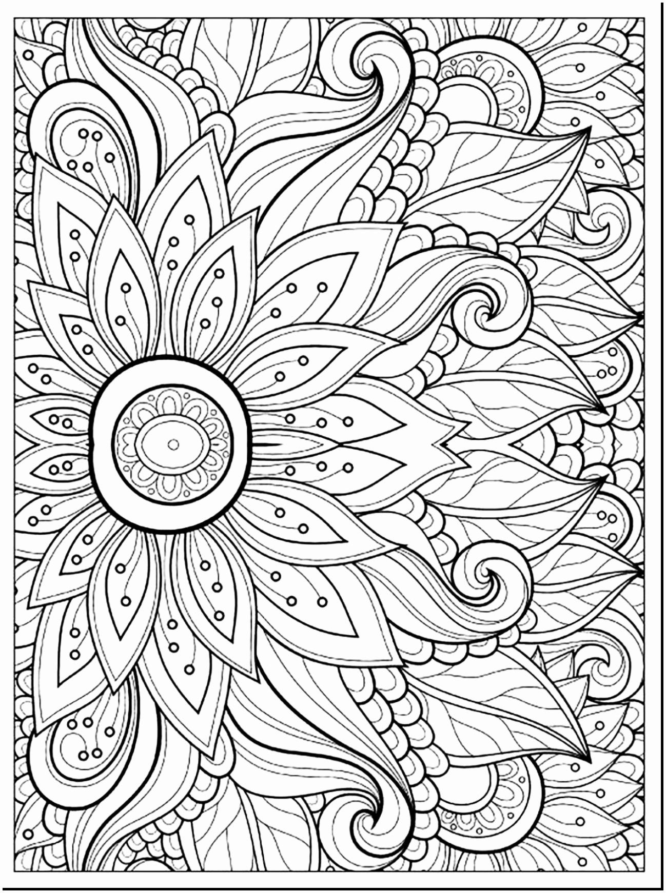 Advanced Coloring Pages Flowers Coloring Pages Coloring Page