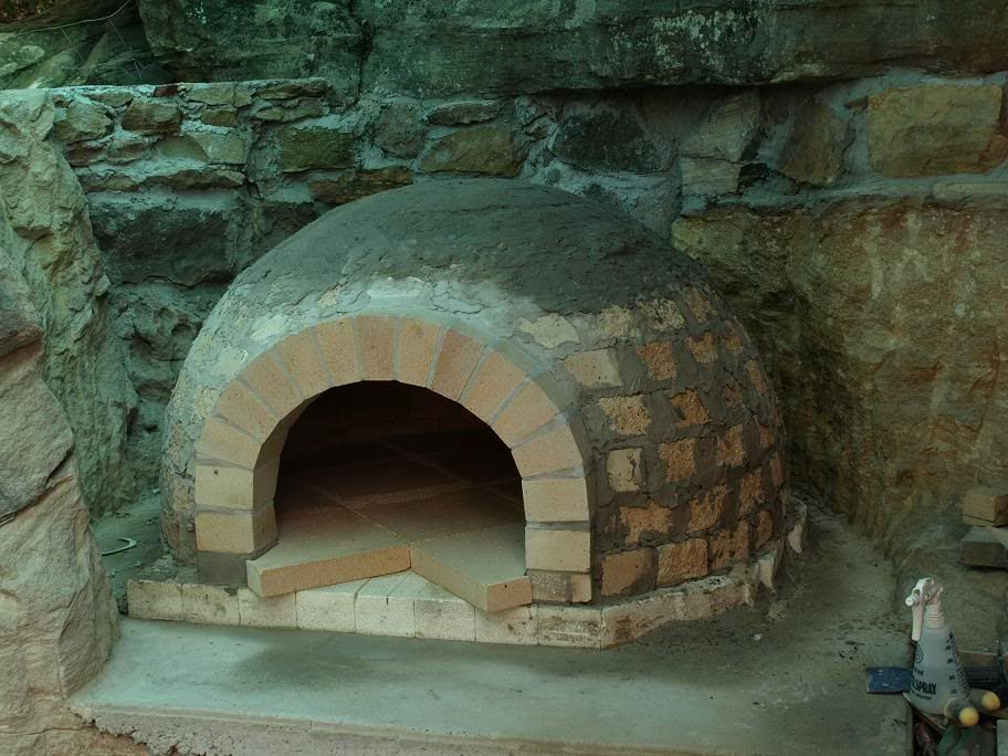 Building Between A Rock And A Hard Place Forno Bravo Forum The