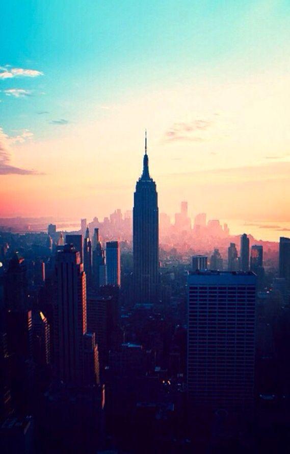 In New York..