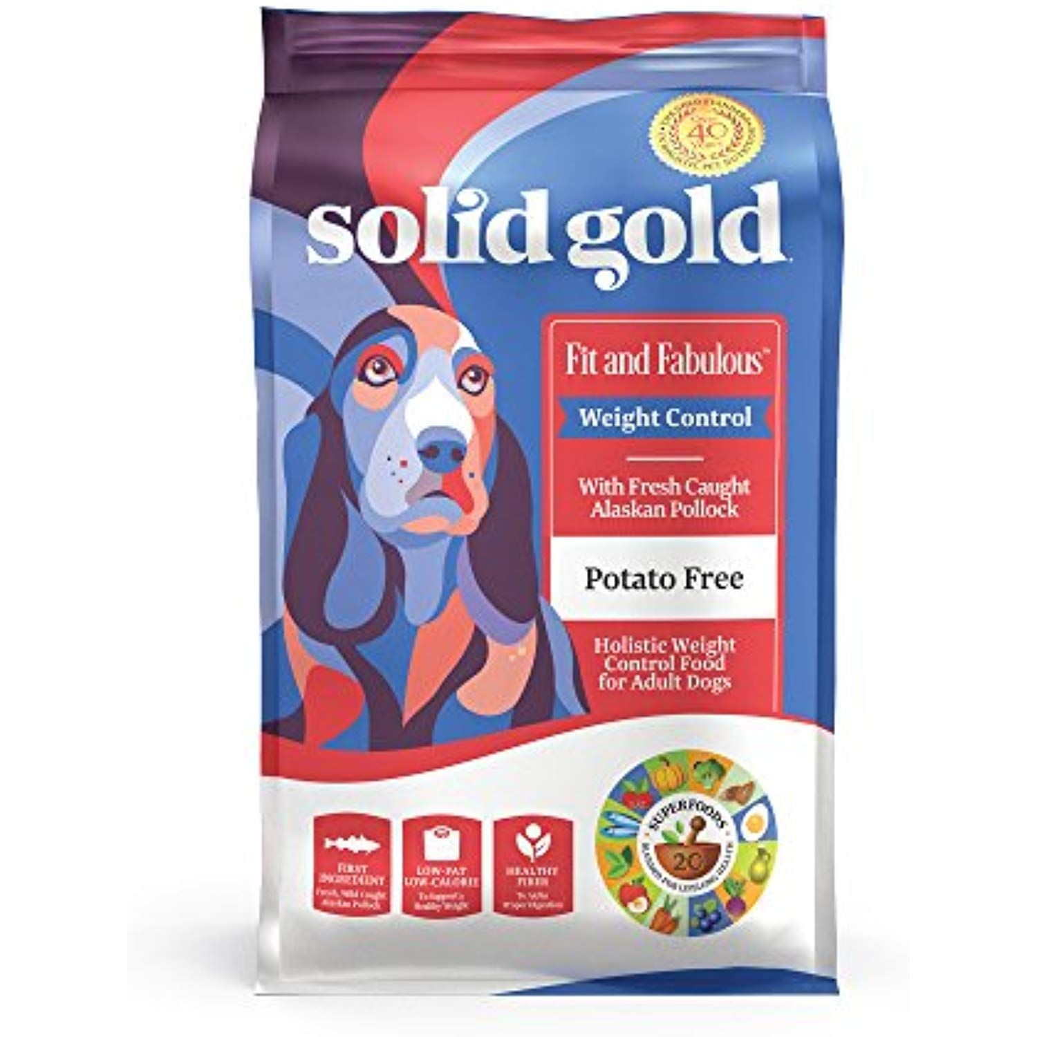Solid Gold Weight Control Dog Food Fit And Fabulous Grain Free