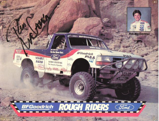 The Ford Rough Riders Off Road Racing Team With Images Trophy