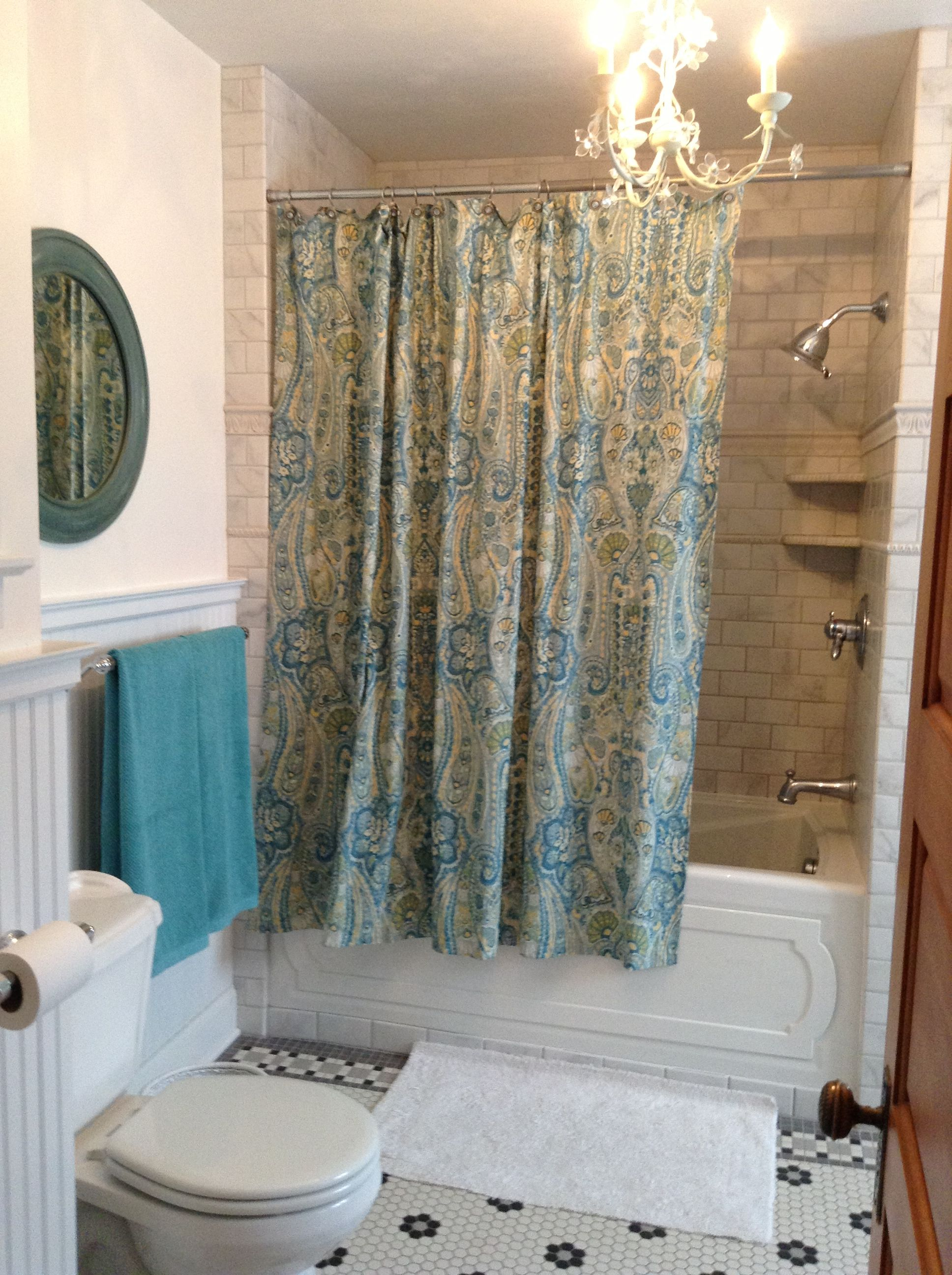 Mirror And Shower Curtain Pottery Barn Outlet Towels T J