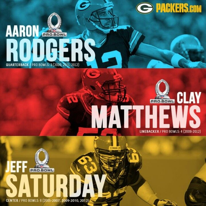 Pro Bowl (With images)   Clay matthews, Green bay, Go packers