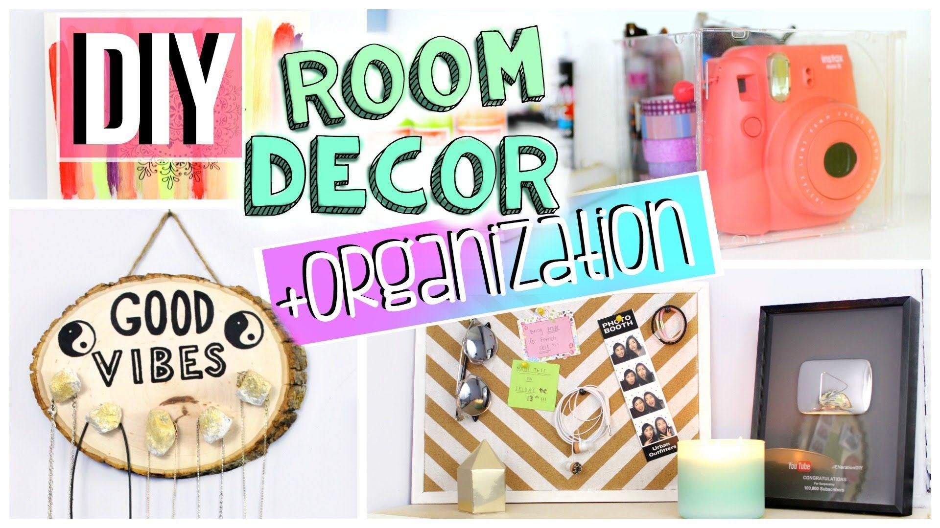 DIY Room Organization + Decor