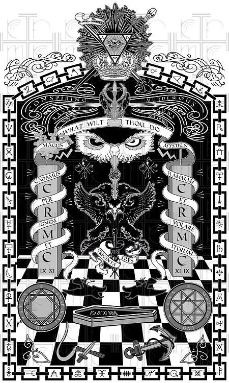 Imagery Pyramid One Eye Symbolism Checkerboard Pattern Freemason