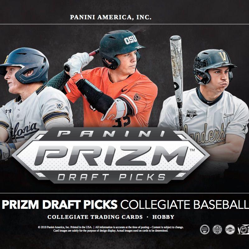 2019 panini prizm draft picks baseball checklist set info