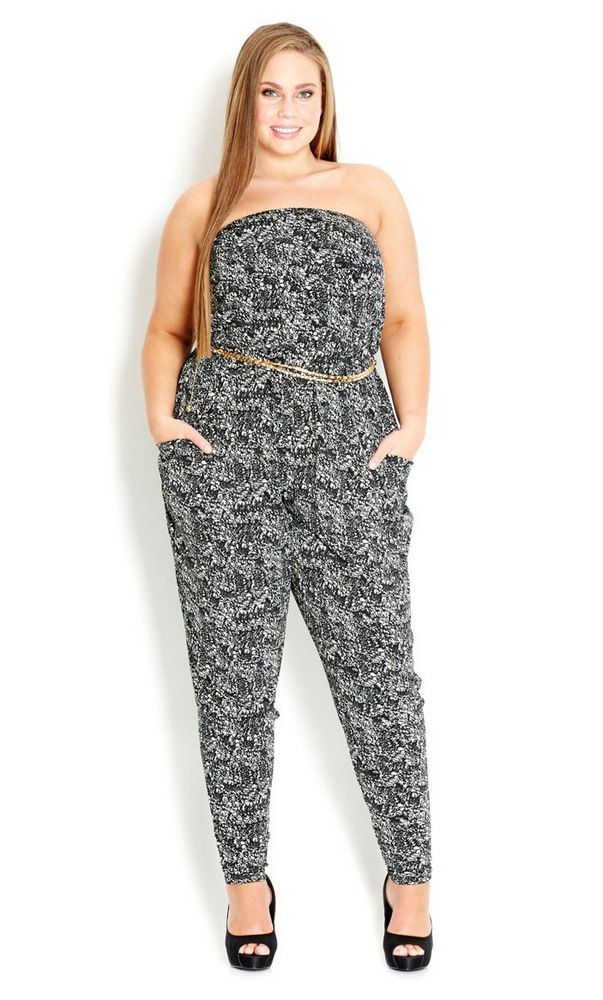 b00ee3e6594c Trending NOW: 15 Plus Size Jumpsuits and Rompers | moda | Bragas ...
