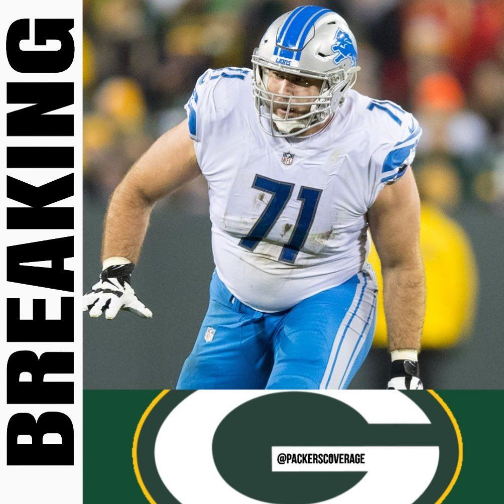 Green Bay Packers On Instagram Breaking Packers Have Reportedly Agreed To Terms With Former Lions Rt Rick Wagner In 2020 Green Bay Packers Green Bay Rick Wagner