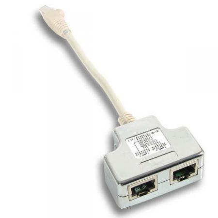 Netwerk Splitter - Cablesharing Aantal: 2 stuks - decoratie ...