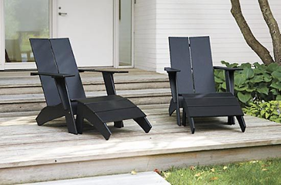 Updated Version Of The Adirondack Muskoka Chair To Me Here In